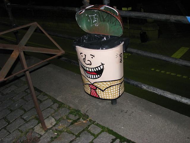 Header of trashcan