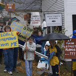 Global Warming Demonstration in Somesville, Maine - Mount Desert, ME