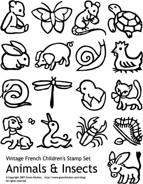Vintage Animal Set