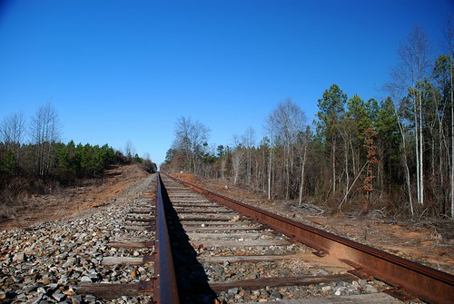 county railroad trees usa west sc america forest train point landscape us rust scenery steel south united union tracks southcarolina rusty carolina convergence states straight vanishing gravel oconee crossties westunion palmettostate