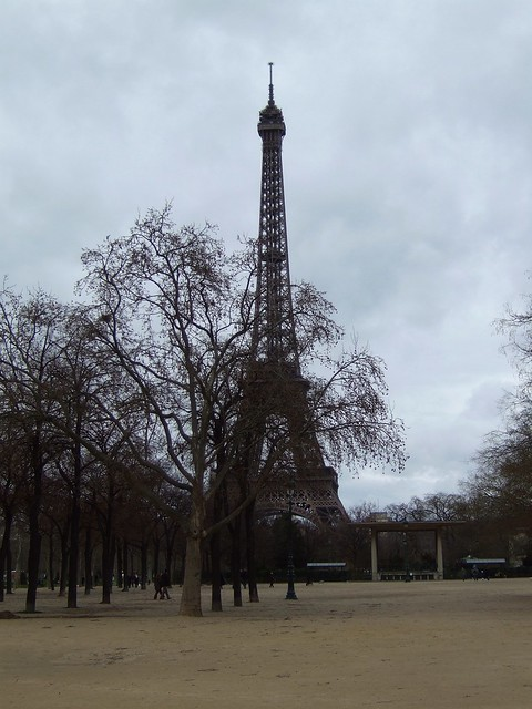 Eiffel Tower from Parc due Champs