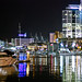 102 Late night on the Viaduct Harbour by .donelle