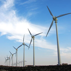 Images of wind turbines