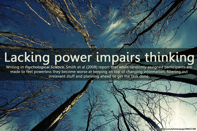 power and thinking