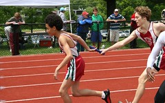 middle-distance running(0.0), 110 metres hurdles(0.0), obstacle race(0.0), 100 metres hurdles(0.0), hurdle(0.0), 800 metres(0.0), hurdling(0.0), sprint(1.0), athletics(1.0), track and field athletics(1.0), endurance sports(1.0), championship(1.0), sports(1.0), running(1.0), 4 㗠100 metres relay(1.0), heptathlon(1.0), athlete(1.0),