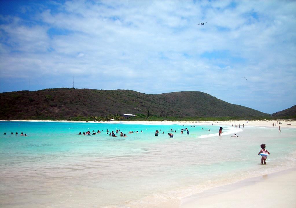 пляж Flamenco