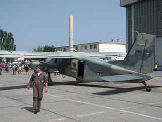 Heck: Dornier Do 28 D-2 Skyservant