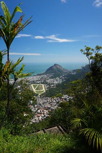 View of Rio de Janeiro from Mount Corcovado