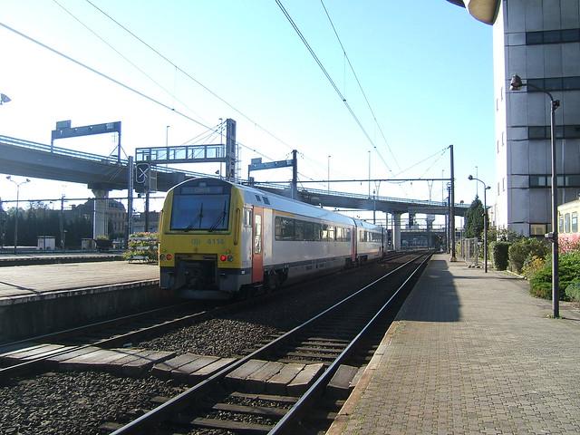 Class 41 DMU in Charleroi-Sud