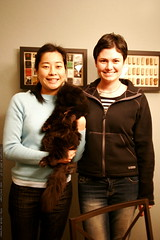 sachi and rachel (and a cat)    MG 8196
