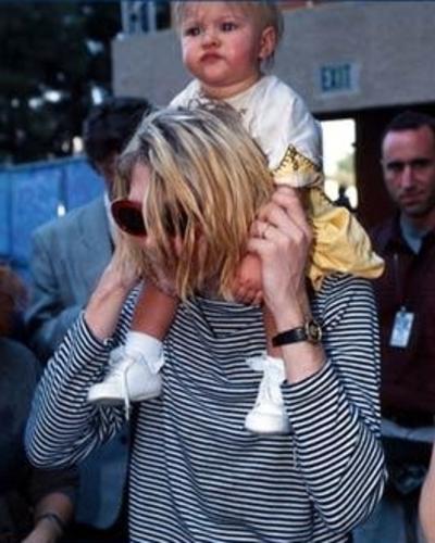 Frances Bean Cobain Kurt Cobain I Kurt Cobain