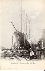 ship of the line(0.0), torpedo boat(0.0), drawing(0.0), ocean liner(0.0), gunboat(0.0), ironclad warship(0.0), steamboat(0.0), brig(0.0), brigantine(0.0), sailing ship(1.0), vehicle(1.0), sketch(1.0), ship(1.0), mast(1.0), carrack(1.0), ghost ship(1.0), watercraft(1.0),