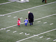 Tom Coughlin and Grandkids
