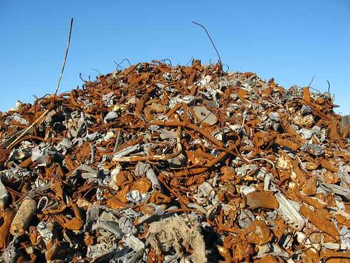 zeglis: scrap metal mountain