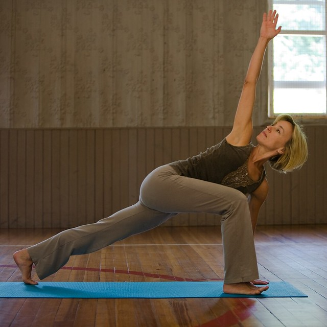 Lunge with a twist