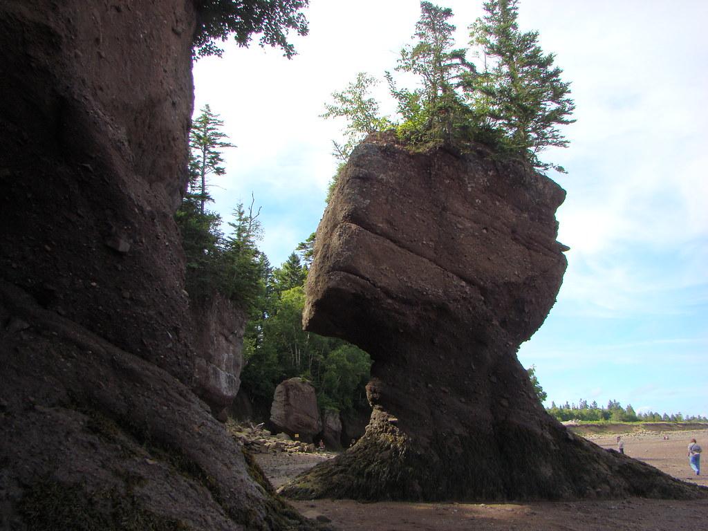 106 New Brunswick   Hopewell Rocks   Flower Pot Rocks | Flickr