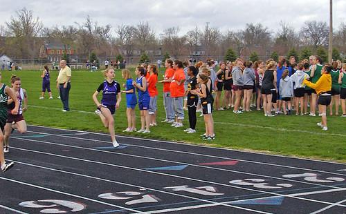 100 Meter Preliminaries at State