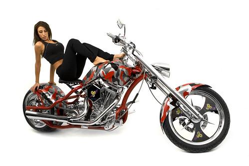 BSN OCC Custom Motorcycle