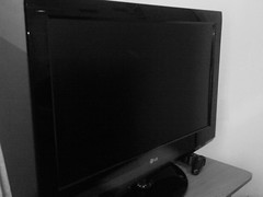 television set, lcd tv, television, room, multimedia, display device, computer monitor, screen, computer hardware, black,