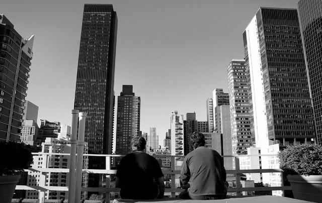 Terraza En New York Vistas Desde La Terraza Del Pod Hotel