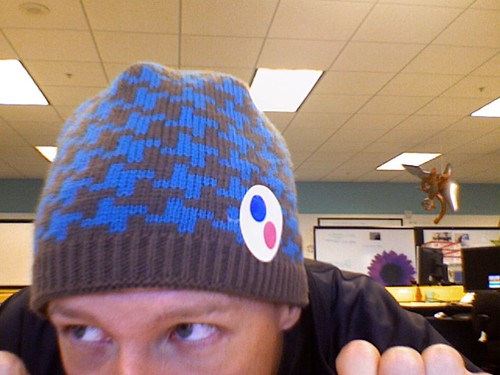 Blue Beanie (er, Toque) Day!