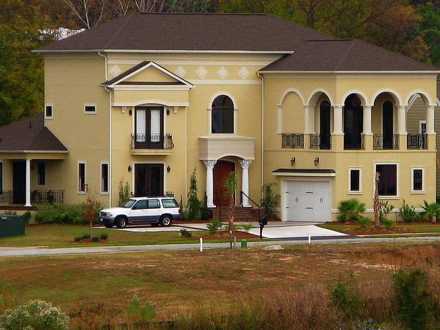 yellow stucco house flickr photo sharing