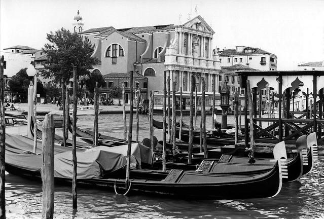 Grand Canal and Chiesa degli Scalzi