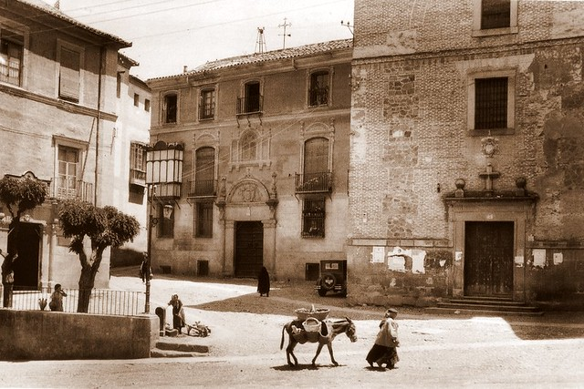 Plaza de San Vicente, Toledo (España). Foto Loty