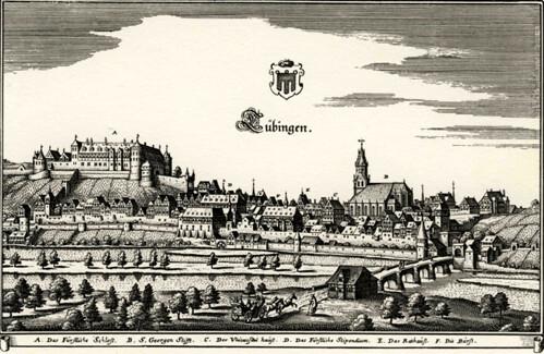 Tübingen, Germany 1700