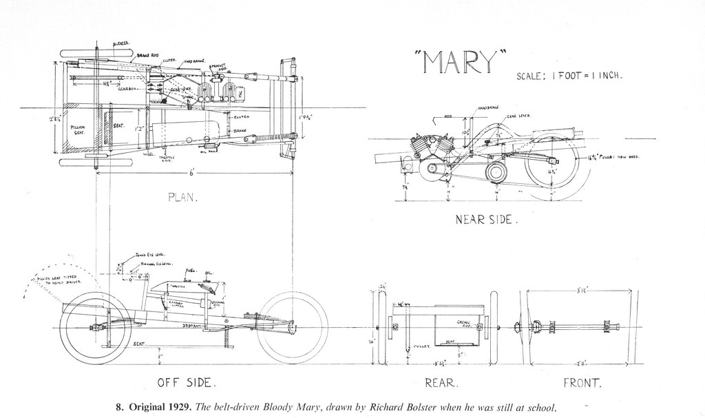 The amazo effect race car of the day john bolsters bloody blueprints of bloody mary by richard bolster malvernweather Image collections