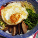 Sally Tan's bibimbap (mixed rice with vegetables)