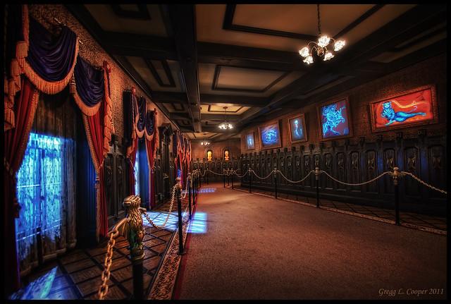 Haunted Mansion Foyer Organ Sheet Music : Daa e z g
