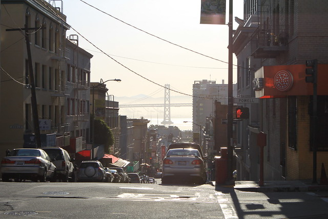 The blocks and streets of San Francisco