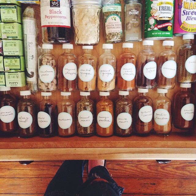 spice drawer in nola