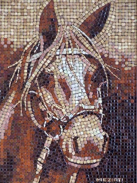 Horse Alea Mosaic Com Flickr Photo Sharing