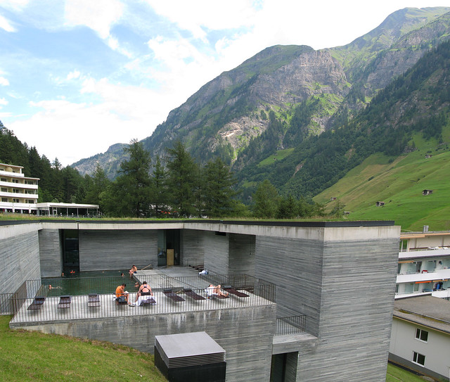 Vals Thermal Baths   by Swiss architect Peter Zumthor en.w ...