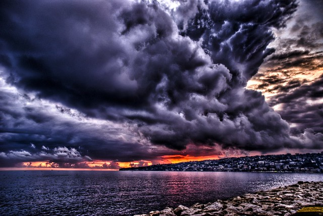Wrath of God!  Napoli under siege