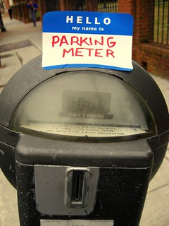 hello parking meter! by Nahh, on Flickr