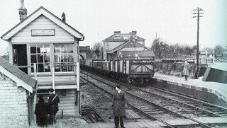Takeley Station and Signal box