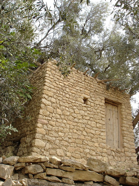 A disused water mill in Ah Frah - 1, مطحنة حبوب قديمة  - بني فرح