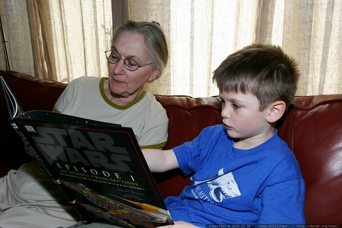 nick and anna reading star wars incredible cross sections    MG 9692