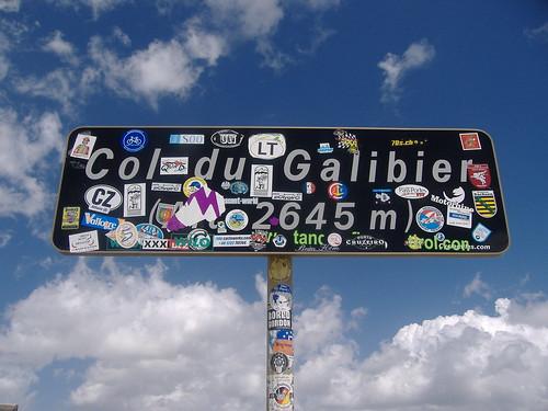 Col du Galibier at 2645m