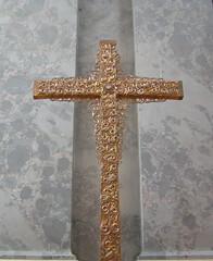 cross in the Esztergom Basilica