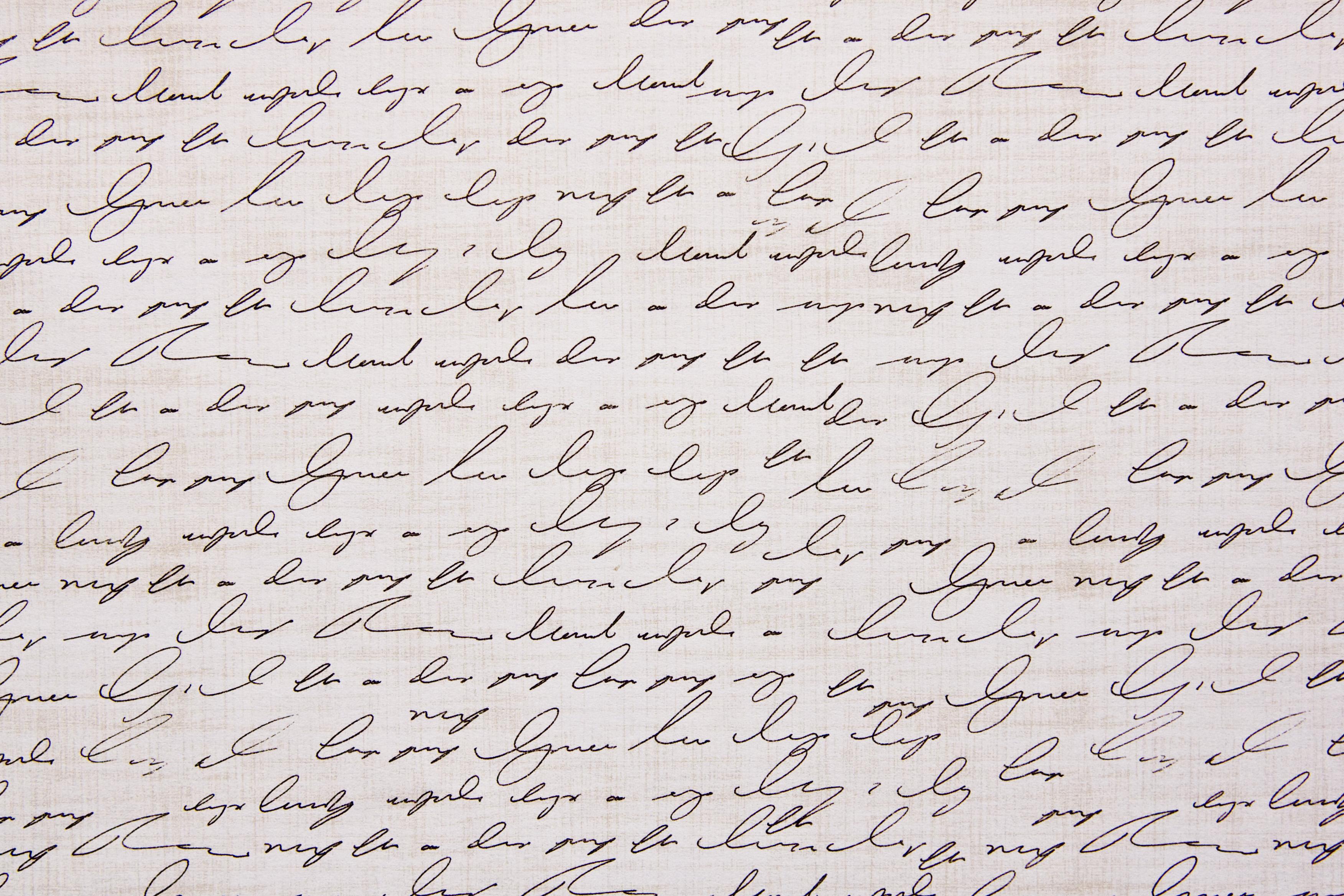 45 useful paper textures letter written paper texture