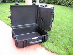 lawn, suitcase,