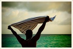A Vigourous Wave Goodbye to the Sun