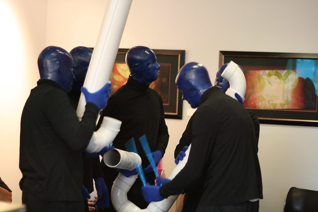 Blue Man Group Halloween 31