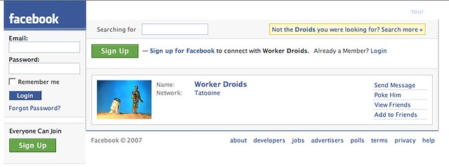 Not the Droids you were looking for?