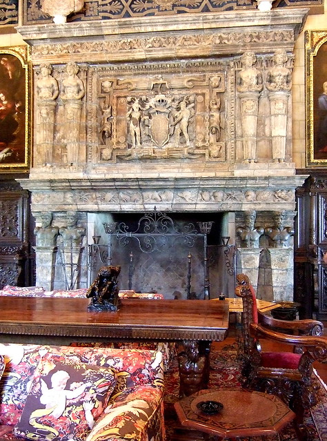 Hearst Castle Gathering Room