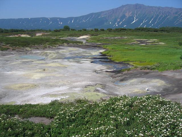 Caldera de Ouzon, Kamchatka, Siberia